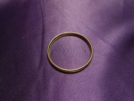Gold Tone Baby Bracelet Filigree Etched - $31.19