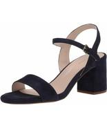 Womens Cole Haan Josie Block Heel Sandal - Marine Blue Suede, Size 8 M [... - $99.99