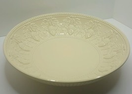 "Extra Large 15"" Serving Bowl Acorns and Laurel Design Bloomingdale's UNUSED - ₹2,803.50 INR"
