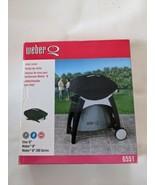 Weber Black Vinyl Cover 6551 Fits  Char Q Weber Q Weber Q200 Series NEW - $18.69
