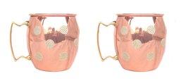 Rastogi Handicrafts Hand Made Pure Copper Moscow Mule Mug / Cup 16 Ounce... - $25.64