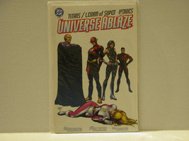 UNIVERSE ABLAZE - TITANS AND LEGION OF SUPERHEROES - FREE SHIPPING! - $13.10
