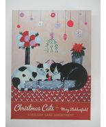 NEW Gift Cards Assorted Christmas Cats by Mary Stubberfield - $25.00