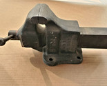 "Holland's 13 1/2 H Bench Vise 3-1/2"" Jaws Heavy Duty USA"
