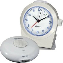 Amplicom TCL 100 Vibrating Alarm Clock - with Wireless Bed Shaker - $76.11