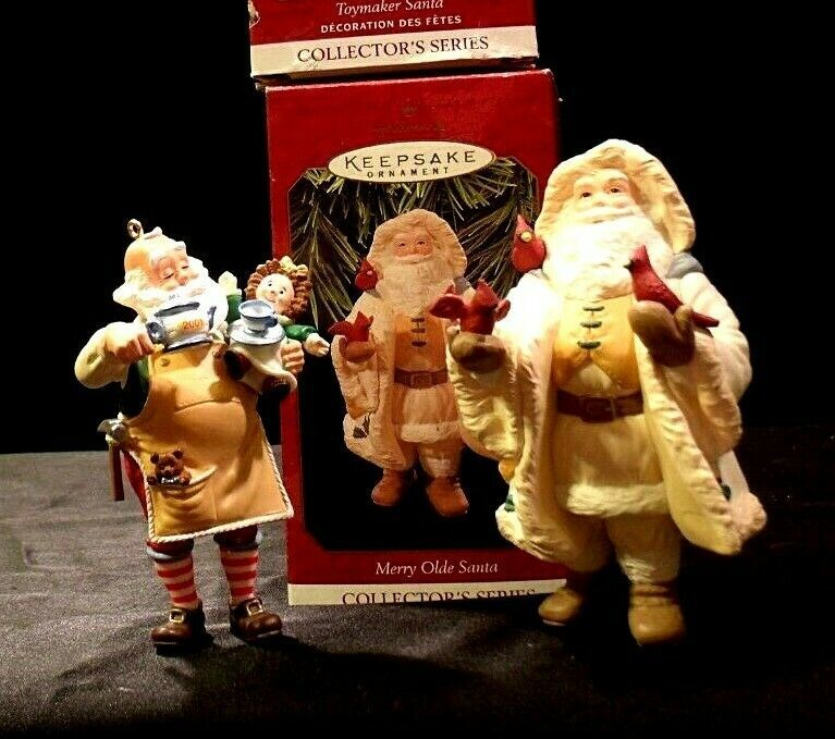 Hallmark Handcrafted Ornaments AA-191775C Collectible ( 2 pieces )