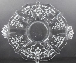 Navarre, Etch No. 327, 10 Inch, Handled Cake Plate, Baroque Blank, No. 2... - $20.00