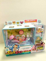 New In Box Twozies Dolls W/pet friends and Row Boat Shadow Box Kit - $14.84