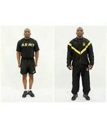 APFU Army Physical Fitness Uniform Jacket, Pants, T-Shirt, Shorts Large ... - £70.87 GBP