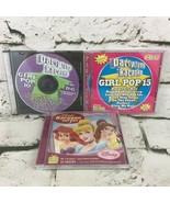 Party Tyme Girl Pop Disney Princess Karaoke Music CDs Lot Of 3  - $11.88