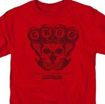 GBGB Since 1973 Retro Punk Rock Bar graphic red t-shirt CBGB107 image 2
