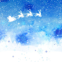 3D Christmas tree blue star Wall Paper Print Decal Wall Deco Wall Indoor Murals - $28.46+