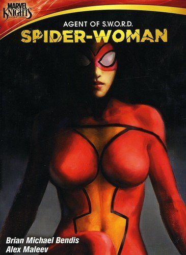Spider woman agents of sword dvd