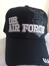 US Air Force & Seal Shadow on a Black Ballcap - $20.00