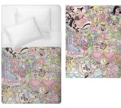 alice in wonderland cheshire cat rabbit Duvet Cover Single Bed Size  - $70.00