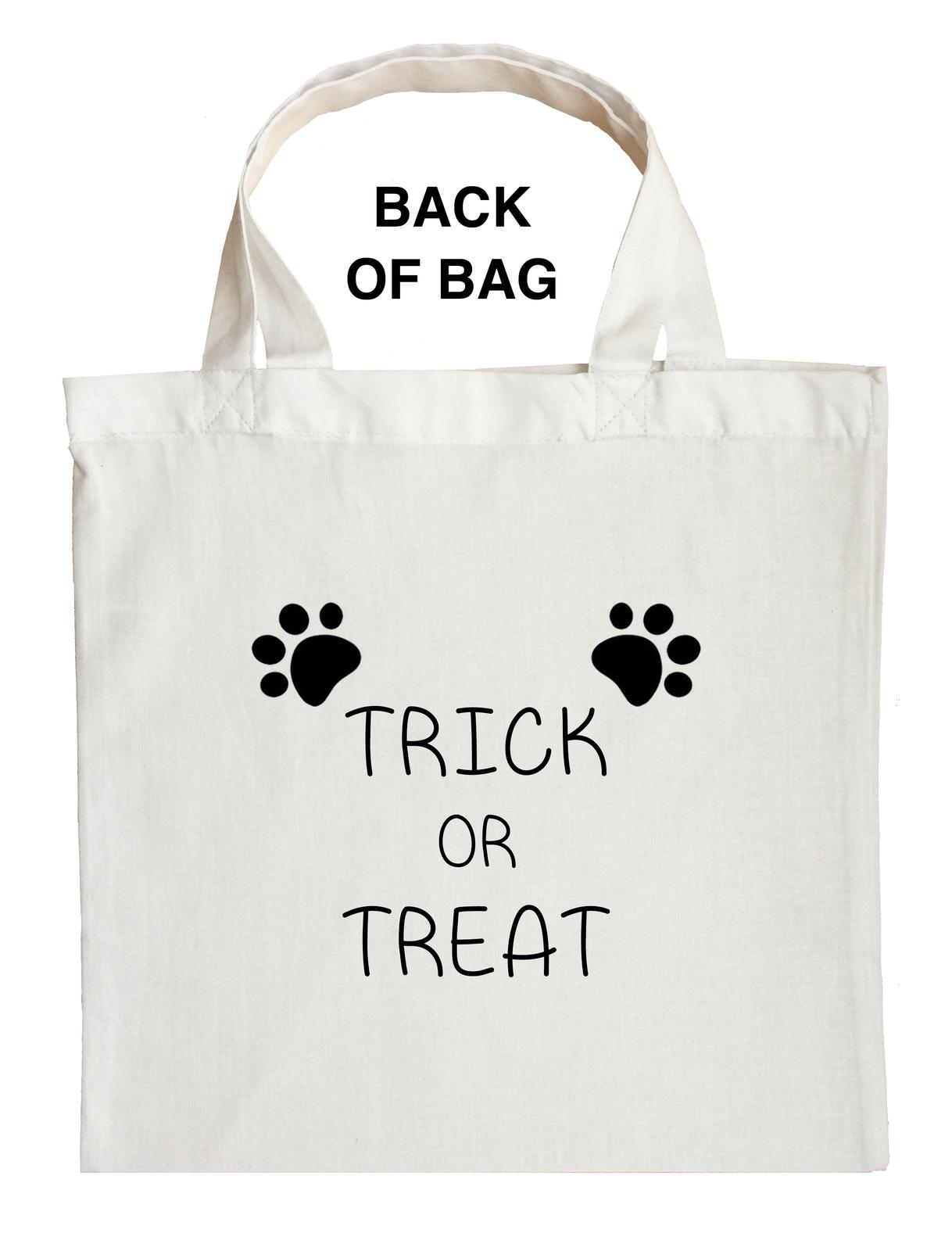 Panda Bear Trick or Treat Bag, Panda Halloween Bag, Custom Panda Bear Bag