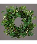 Wreath - Twig, Eucalyptus Assortment, Berry Clusters - $48.00