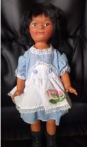 1988 Loretta Daum Byrne Native American Indian Doll in country dress - $9.89