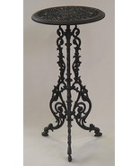 Table Plant Stand, Cast Iron Table, garden decor, decor home  * Free Air - $299.00