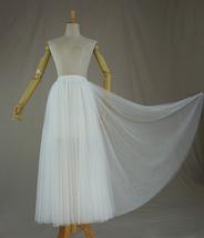 Women's White Suit Jacket White Asymmetrical Collar Boho Wedding Bridal Outfits image 10