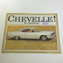 Chevelle by Chevrolet Convertible Station Wagon Sport Coupe Car Catalog Brochure - $12.79
