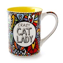 "Our Name is Mud ""Crazy Cat Lady"" Cuppa Doodle Stoneware Mug, 16 oz. - $15.90"