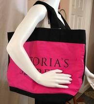 Victoria's Secret Pink/black tote Women's Bag - $15.74