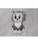 "DISNEY SEGA STUFFED PLUSH FIGARO GRAY KITTY CAT KITTEN PINOCCHIO 7"" NEW - $32.91"