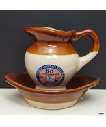 1984 Great Smoky Mountain National Park 50th Anniversary Mini Pitcher & ... - $7.13