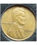 1940 Lincoln Wheat Penny EF #282 - $0.53