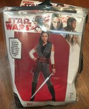 Rubies Adult Womens The Last Jedi Star Wars Rey Halloween Costume~Small ... - £17.85 GBP