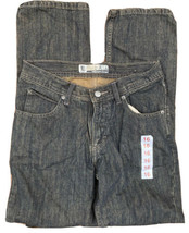 Lee Dungarees Relaxed Bootcut Adjustable Waistband Boys Size 16 Regular New - $26.99