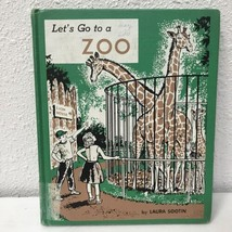 Let's Go To A Zoo By Laura Sootin Vtg 1959 Childrens Book - $12.54