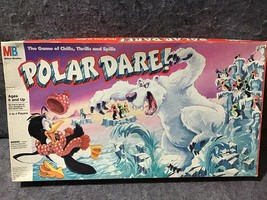 Milton Bradley 1991 Polar Dare Game Of Chills Thrills Spills - $28.96