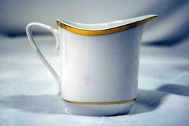 Spode Golden Eternity Creamer 8 oz. #8186 EUC - $15.93