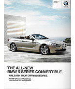 2011/2012 BMW 6-SERIES Convertible sales brochure catalog US 12 650i - $9.00