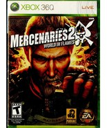 Mercenaries 2: World in Flames Microsoft Xbox 360 Complete with Manual - $12.99