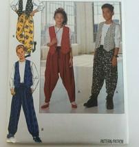Butterick Sewing Pattern 5667 Girls Boys Vest Top Pants Unisex Casual Un... - $10.80