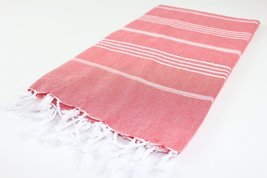 Turkish Towel Fouta Peshtemal Striped Beach Bath Spa Yoga Hammam Gym Pool Towel  - $12.76