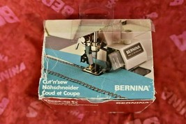 Genuine Bernina Cut 'n Sew Attachment WITH  #90 FOOT- VERY RARE!!!-Old S... - $89.95