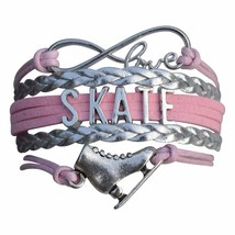 Figure Skating Charm Bracelet - Ice Skate Jewelry - Perfect Figure Skati... - $9.99