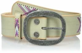 M/L prAna Women's Aero Leather Belt Medium/Large Unisex Winter NEW