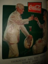 Large Rare Antique 92-YEAR Old EARLY-COLOUR COCA-COLA Advertisement. - $16.00