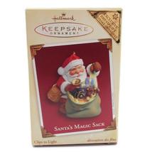 Santa's Magic Sack Light Clip 2005 VIP Gift Christmas Tree Keepsake New ... - $11.85