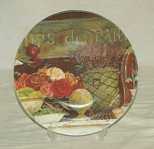 "Cypress Home 8-1/2"" Salad Plate Floral Still Life by Kathryn White - $19.79"