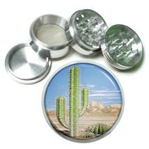 Cactus & Succulents D9 63mm Aluminum Kitchen Grinder 4 Piece Herbs & Spices - $13.81