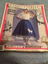 Pink Poodle Skirt Little Girls 4-6 Halloween Costume 50s As Is - $19.79