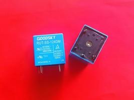 RUT-SS-124DM, 24VDC Relay, Goodsky Brand New!! - $4.46