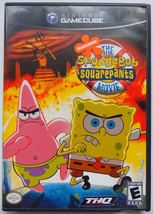 SpongeBob SquarePants Movie Nintendo GameCube Complete Video Game NGC - $12.89
