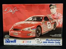 Budweiser #8 2006 Monte Carlo Dale Jr. Complete Unbuilt Model Revell 1:24  - $12.82
